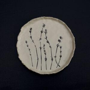 Farfurie handmade din ceramica.